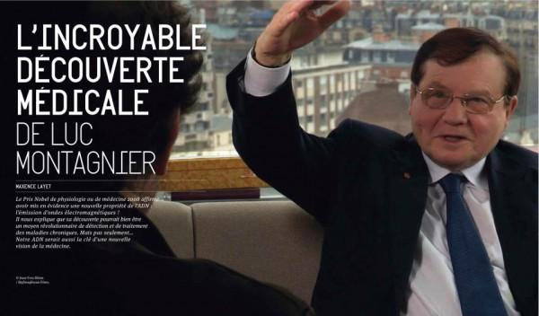 Rencontre avec Luc Montagnier