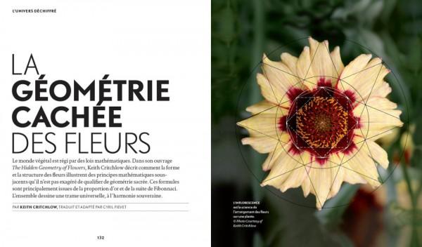 La géométrie des fleurs par Keith Critchlow