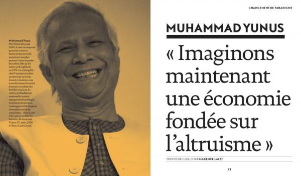 Texte de Muhammad Yunus