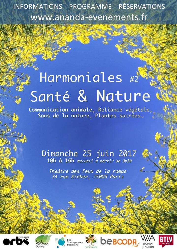 Affiche Harmoniales sante nature